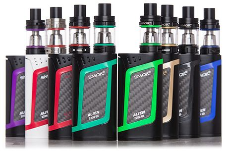 The Smok Alien 220W Kit Review
