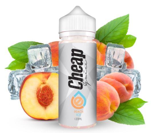 Cheap E-Juice Peach Iced E-Liquid Review