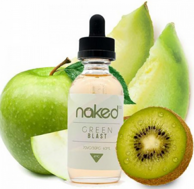 Naked 100 Green Blast E-juice Review