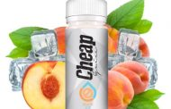 Cheap E-Juice Peach Iced E-Liquid Review