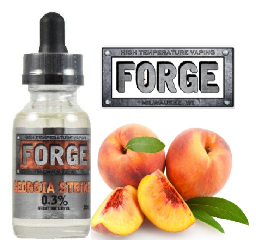 Forge Vapor Georgia Striker Eliquid Review