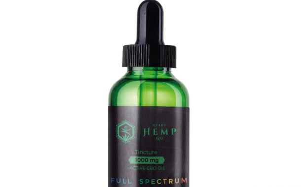 1000mg Full Spectrum CBD Oil Tincture By Ready Hemp Go Review