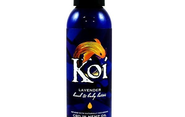Lavender CBD Lotion by Koi CBD Review
